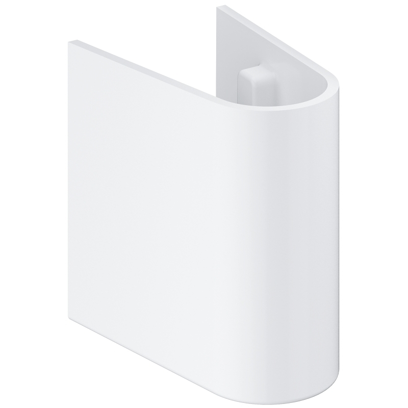 Grohe Euro 39325 Ceramic Semi Pedestal for Hand Rinse Basin