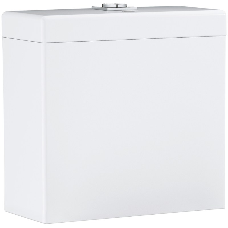 Grohe Cube Ceramic Close Coupled Cistern Bottom Entry 39490