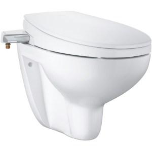 Grohe Bau Ceramic Manual Bidet Seat 2-in-1 Wall Hung 39651