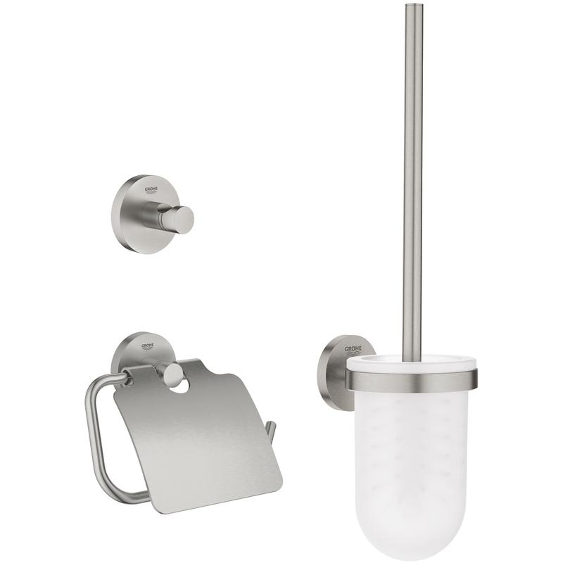 Grohe Essentials 3-In-Accessories Set 40407 Supersteel