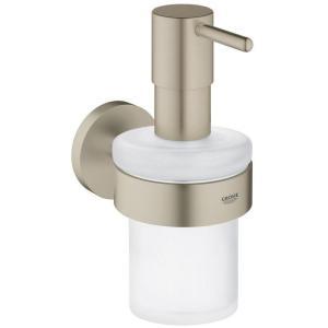 Grohe Essentials Soap Dispenser 40448 Brushed Nickel