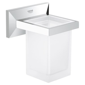 Grohe Allure Brilliant Holder with Tumbler 40493
