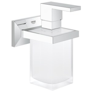 Grohe Allure Brilliant Holder with Soap Dispenser 40494