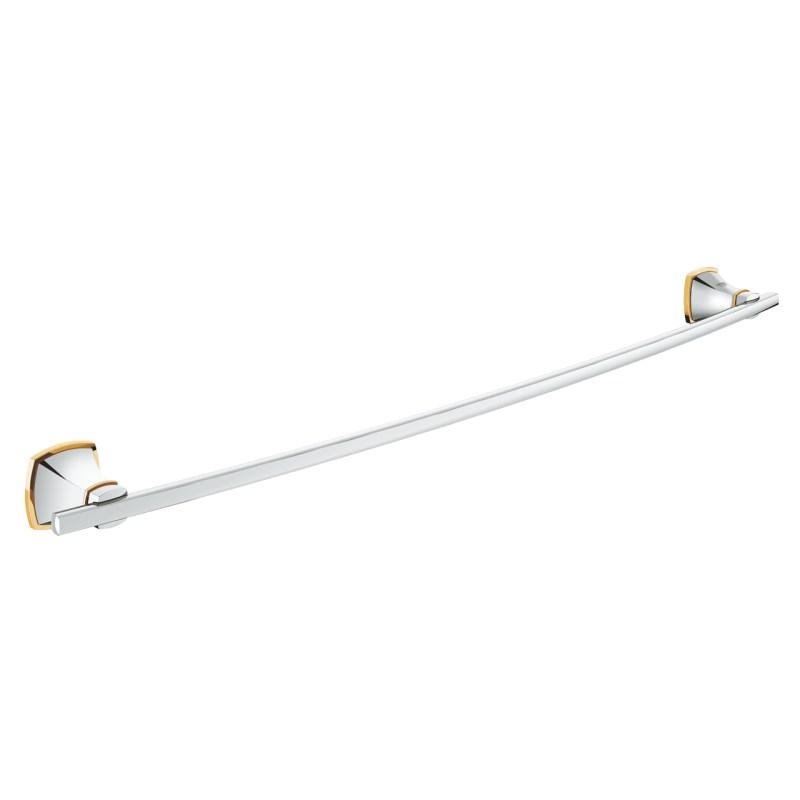 Grohe Grandera Bath Towel Bar 40629 Chrome/Gold