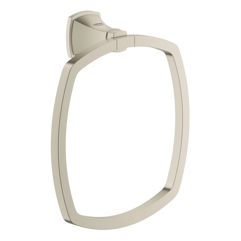 Grohe Grandera Towel Ring 40630 Brushed Nickel
