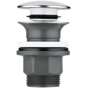 Grohe Clicker Waste Set with Push-Open Plug 40824 Chrome