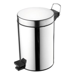 Ideal Standard IOM Pedal Bin Polished Stainless Steel A9104