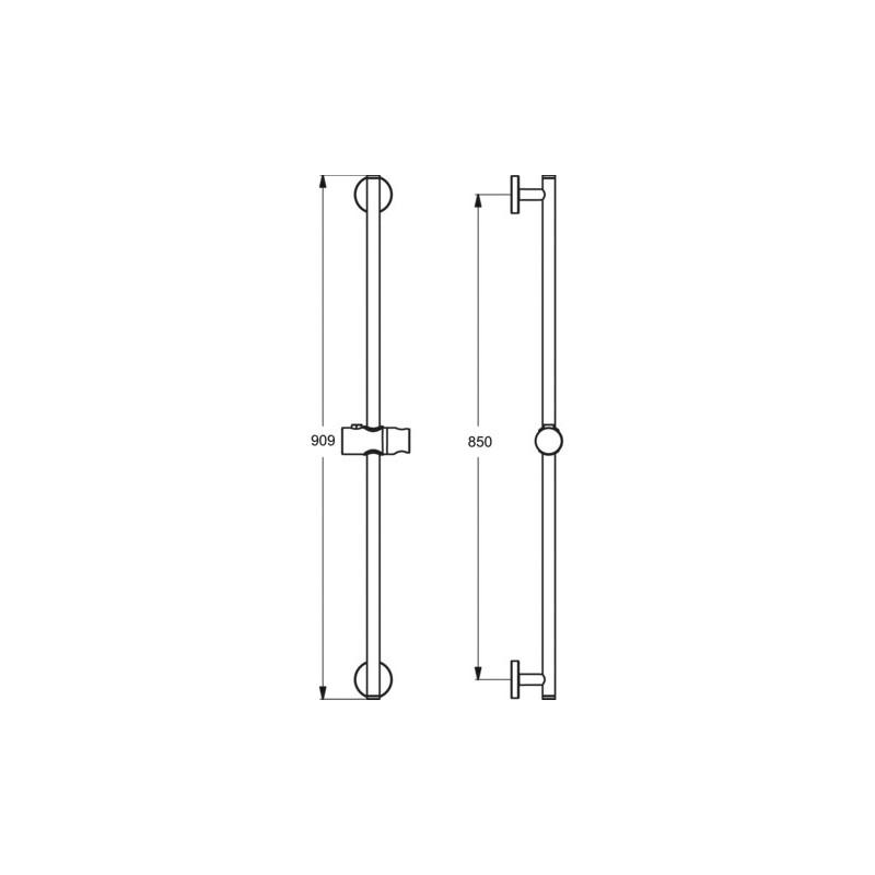 Ideal Standard Idealrain 900mm Slide Rail B9422