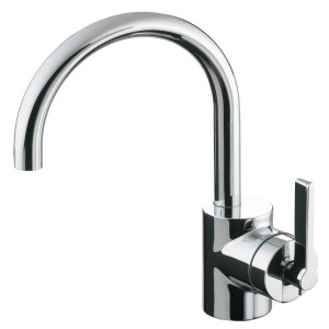Ideal Standard Silver Basin Mixer without Waste E0068