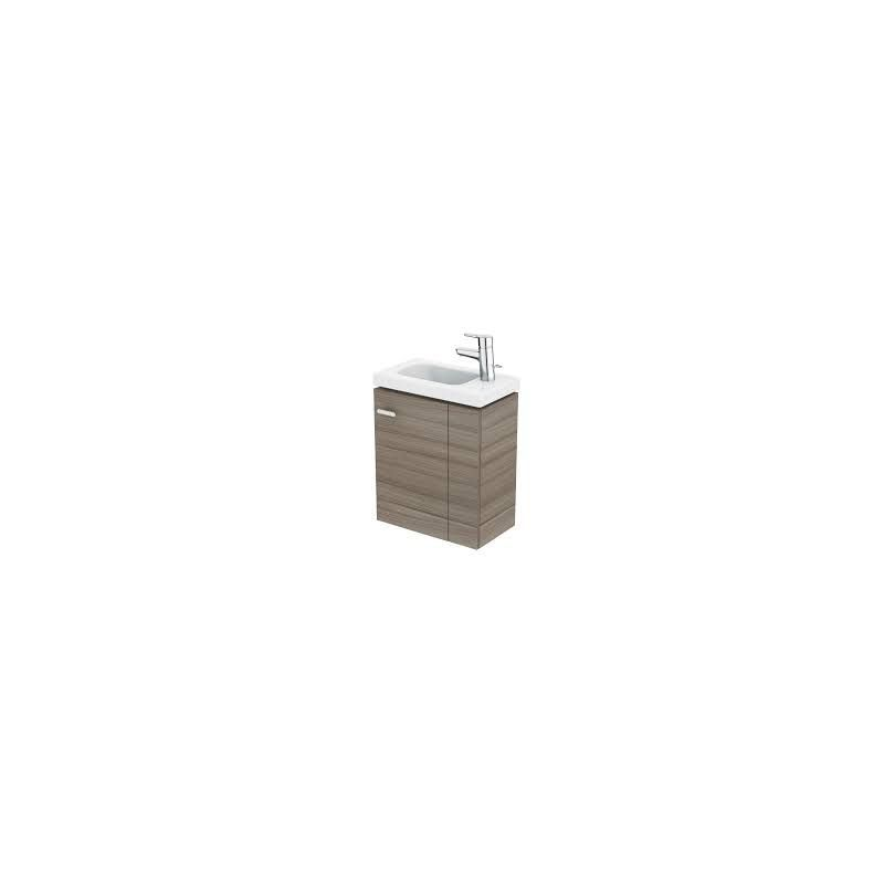 Ideal Standard Concept Space 450mm Wall Basin Unit RH E0371 Elm