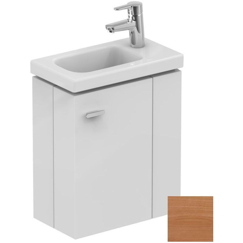 Ideal Standard Concept Space 450mm Wall Basin Unit RH E0371 Oak