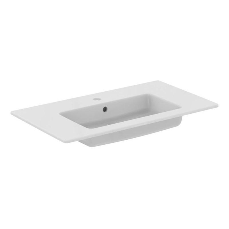Ideal Standard Tempo 80cm Vanity Basin 1 Taphole E0669 White