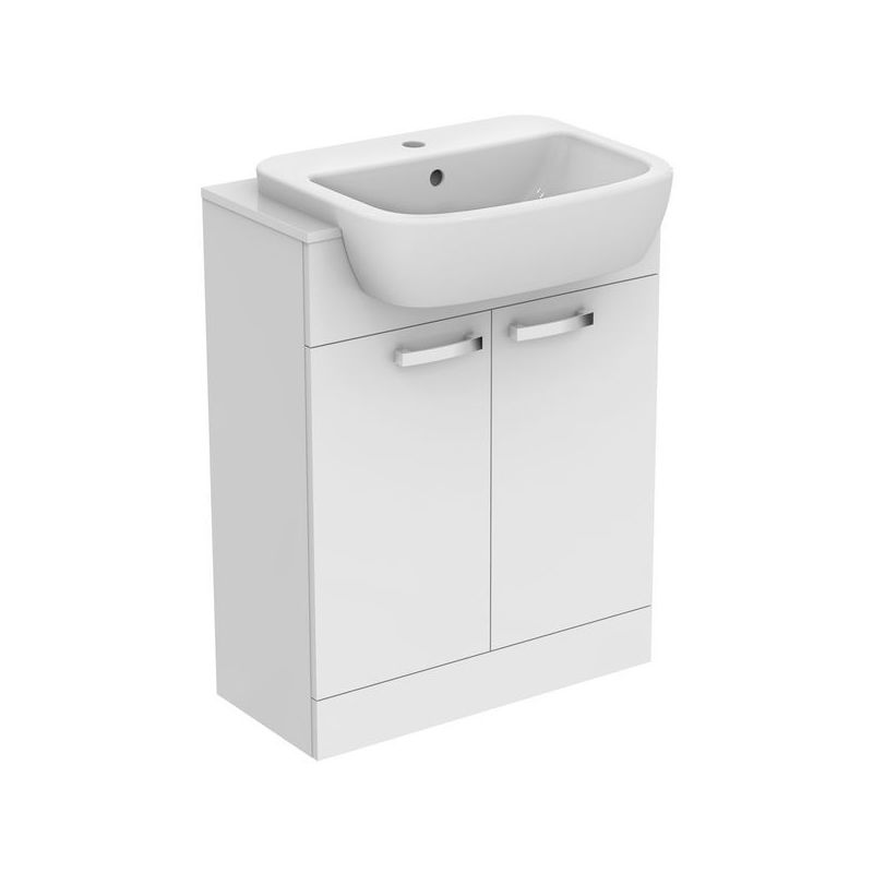 Ideal Standard Tempo Semi Countertop Unit & Basin E0778 White