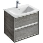 Ideal Standard Concept Air 600mm Vanity Unit E0818 Grey/White
