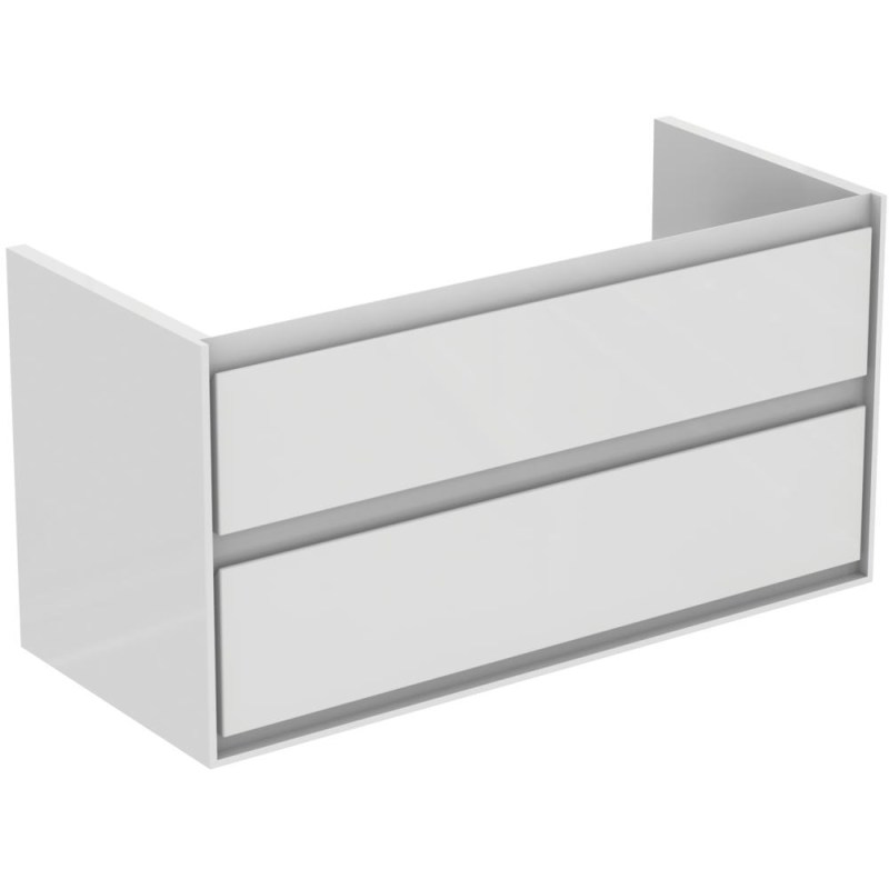 Ideal Standard Concept Air 100cm Wall Vanity Unit 2 Drawers