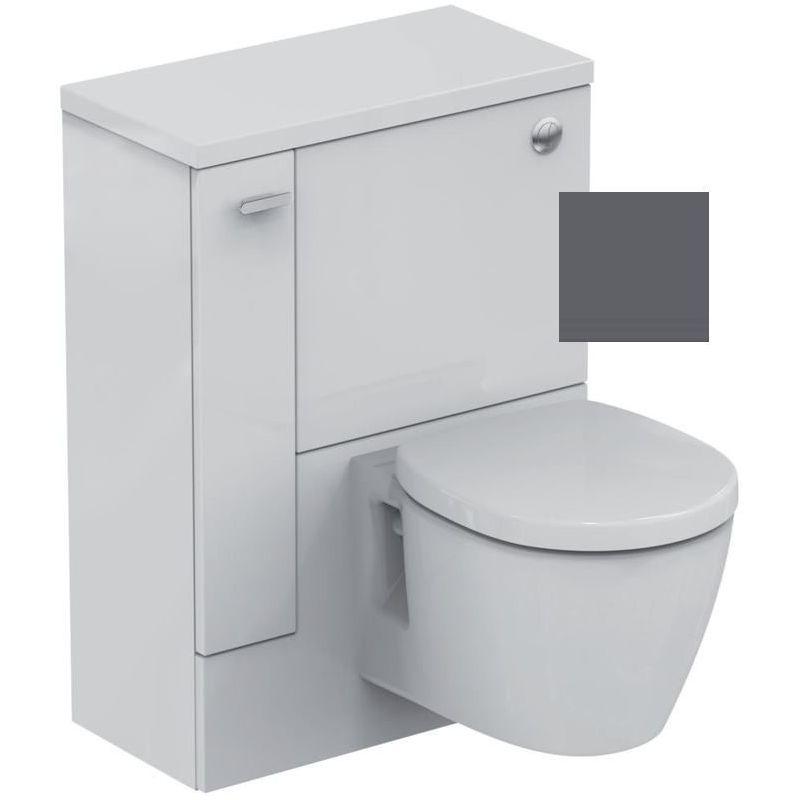 Ideal Standard Concept Space 600mm WC Unit LH E1437 Grey