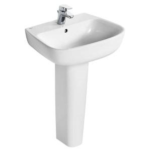 Ideal Standard Studio Echo 55cm Basin & Full Pedestal Pack