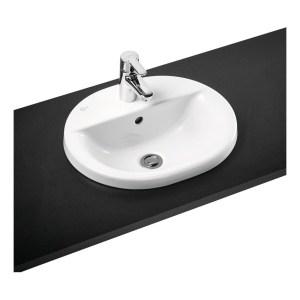 Ideal Standard Concept Oval 48cm Countertop Basin 1 Hole E5002