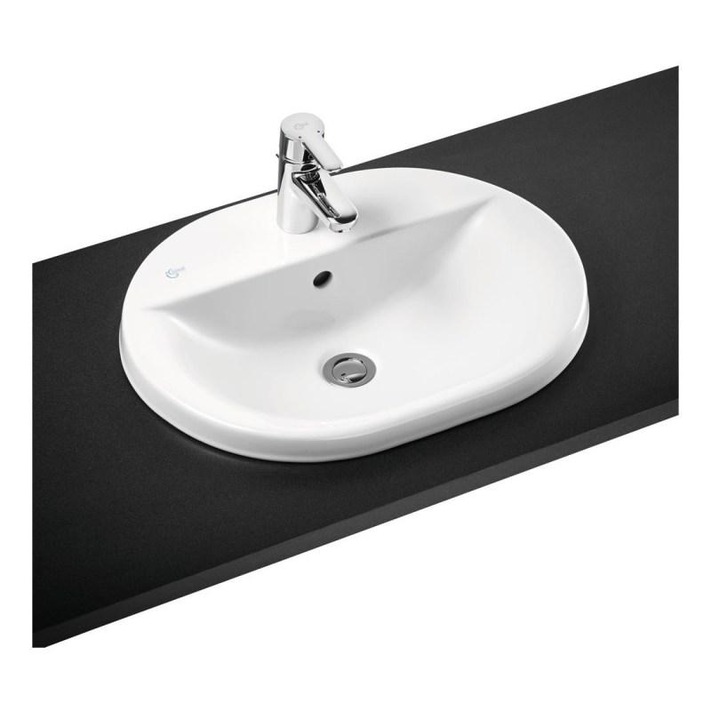 Ideal Standard Concept Oval 55cm Countertop Basin 1 Hole E5004
