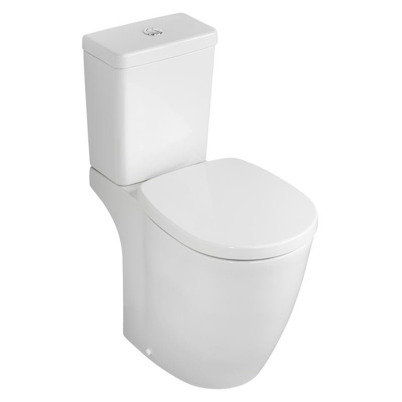 Ideal Standard Concept Freedom Raised Close Coupled WC Pan E6086