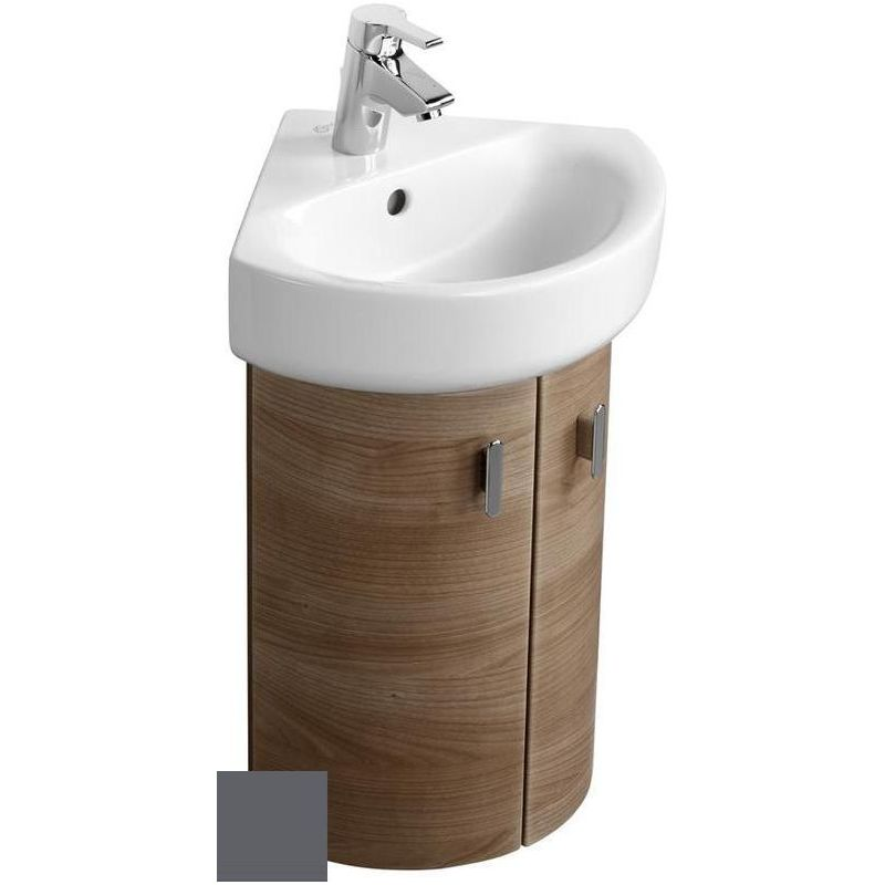 Ideal Standard Concept Wall Hung Corner Unit E6848 Grey