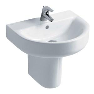 Ideal Standard Concept Arc 55cm Washbasin 1 Taphole E7852