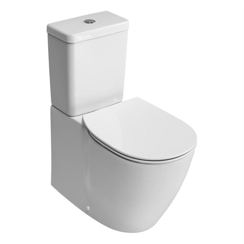 Ideal Standard Concept Aquablade Close Coupled Back To Wall Pan