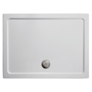 Ideal Standard Simplicity 900x760mm Shower Tray Flat Top L5090