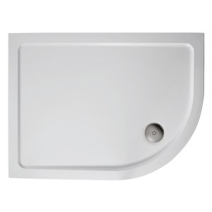 Ideal Standard Simplicity 900x800mm Offset Quadrant Tray Flat LH