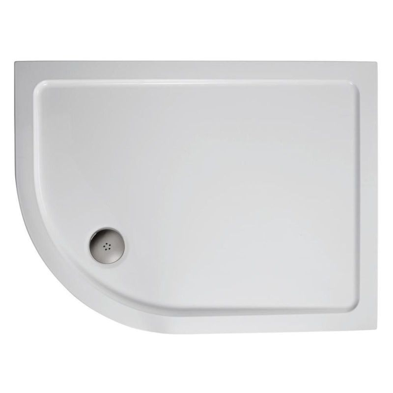 Ideal Standard Simplicity 1000x800 Offset Quadrant Tray Flat RH
