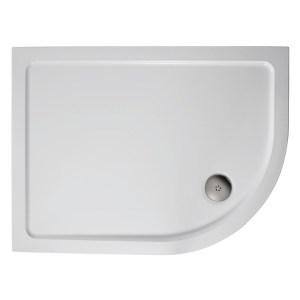 Ideal Standard Simplicity 1000x800 Offset Quadrant Tray Flat LH