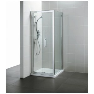Ideal Standard Synergy 760mm Infold Door L6206 Bright Silver