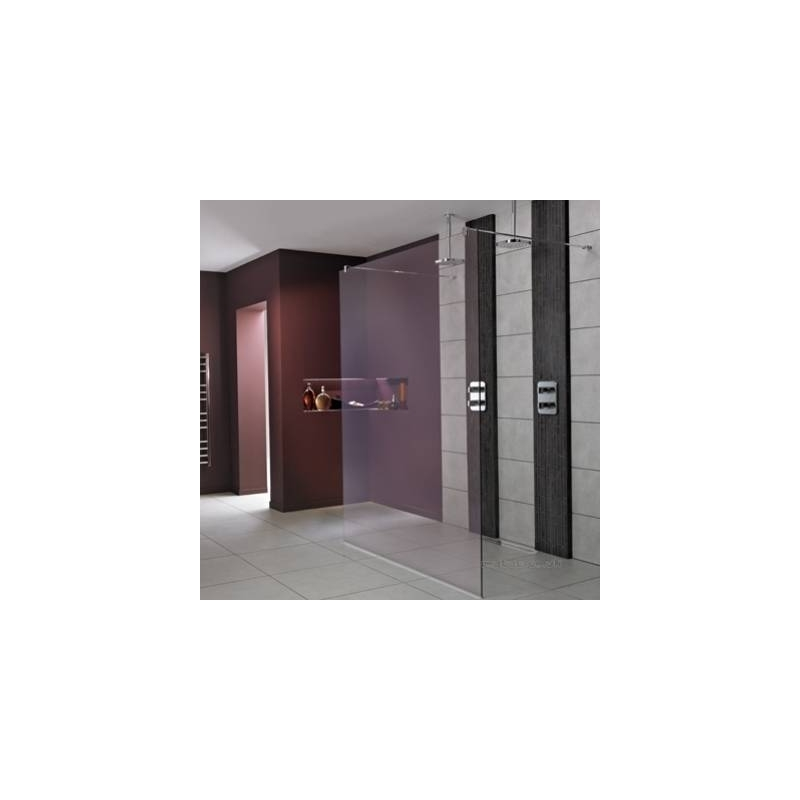 Ideal Standard Synergy 760mm Wet Room Panel L6221 Bright Silver