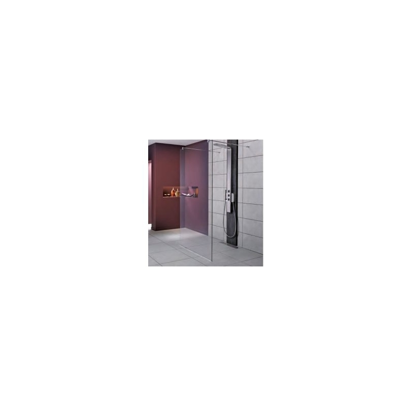Ideal Standard Synergy 800mm Wet Room Panel L6222 Bright Silver