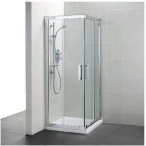 Ideal Standard Synergy 800mm Corner Entry Enclosure L6280 Silver