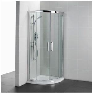 Ideal Standard Synergy 800mm Quadrant Enclosure L6283 Silver