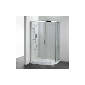 Ideal Standard Synergy 900x800mm Offset Quadrant L6286 Silver