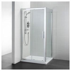 Ideal Standard Synergy 1000mm Slider Door L6288 Bright Silver