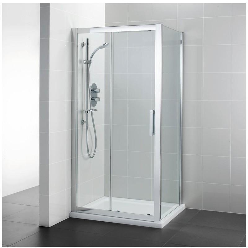 Ideal Standard Synergy 1200mm Slider Door L6289 Bright Silver