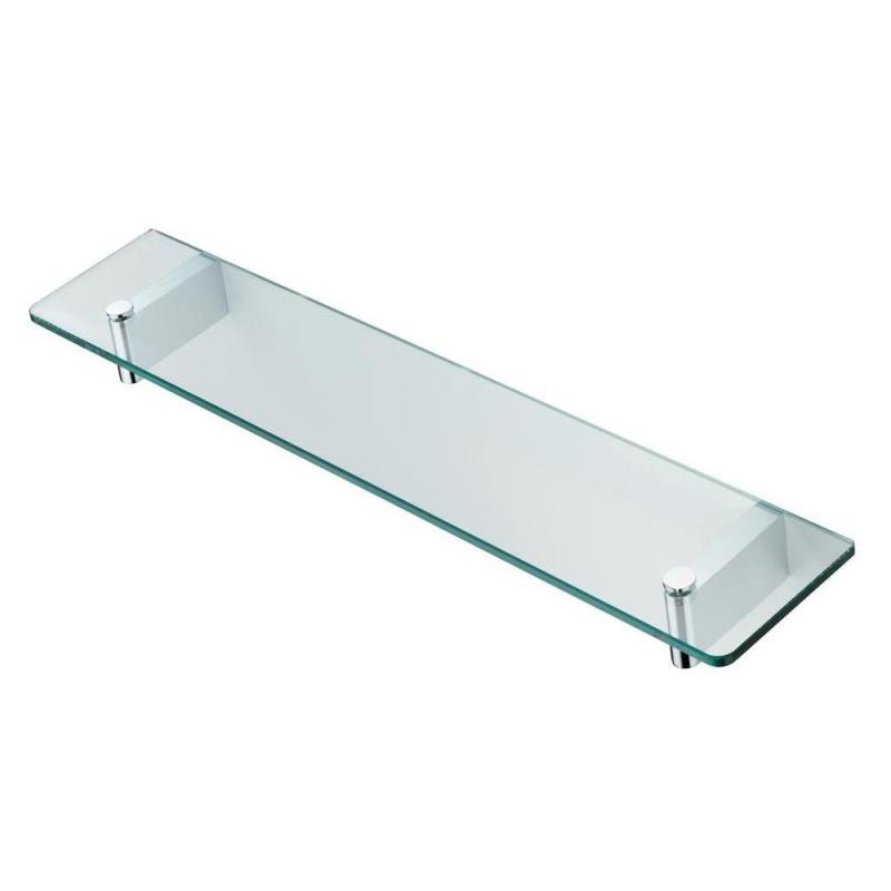 Ideal Standard Concept 60cm Glass Shelf & Brackets N1394