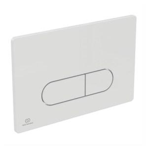 Ideal Standard Oleas P1 Pneumatic Dual Flush Plate White