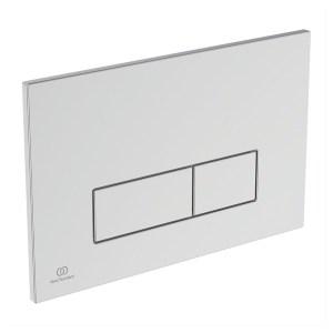 Ideal Standard Oleas P2 Pneumatic Dual Flush Plate Chrome R0119