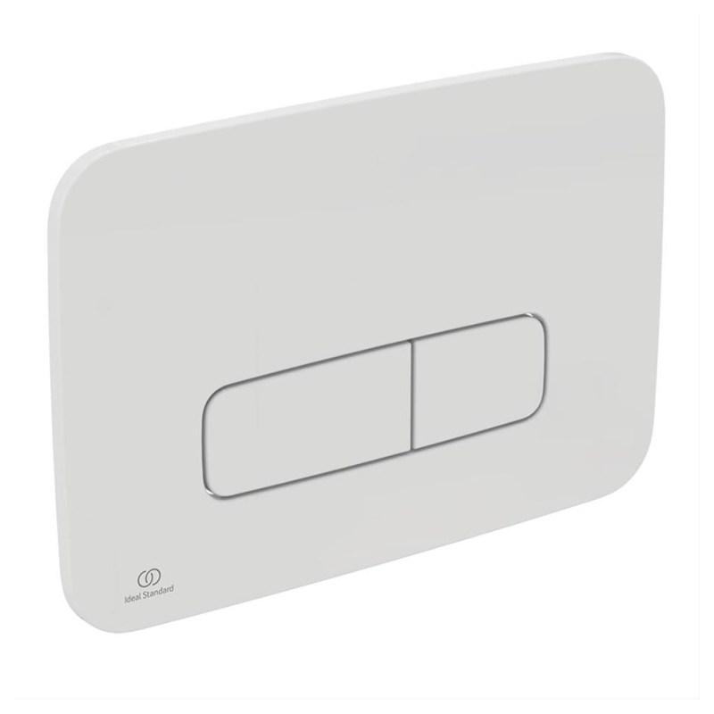 Ideal Standard Oleas M3 Mechanical Dual Flush Plate White