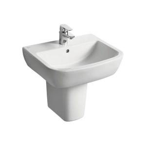 Ideal Standard Tempo 55cm Washbasin 1 Taphole T0586