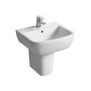 Ideal Standard Tempo 50cm Washbasin 1 Taphole T0588