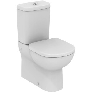 Ideal Standard Tempo Short Projection Back To Wall Toilet 6/4l with Slow Close Seat