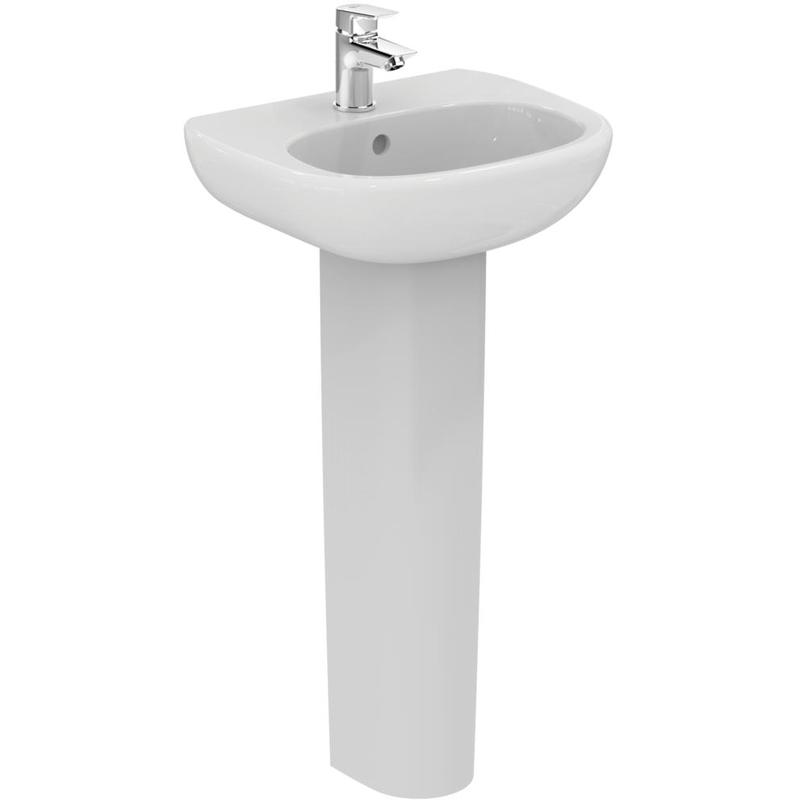 Ideal Standard Tesi Small Full Pedestal T3521 White