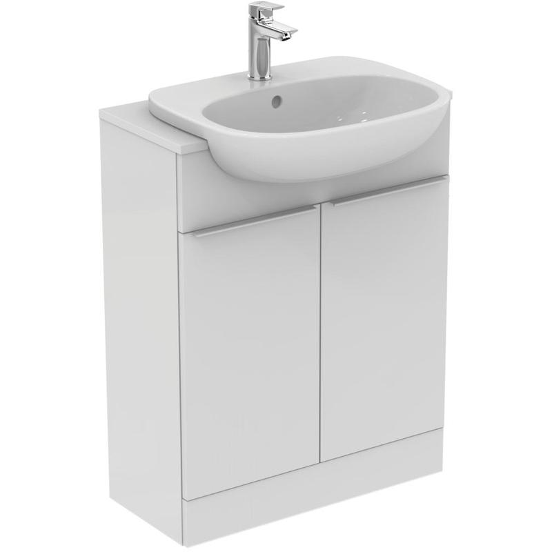 Ideal Standard Tesi 55cm Semi-Countertop Basin 1 Hole T3526