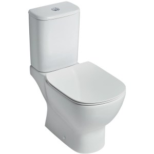 Ideal Standard Tesi Thin Seat & Cover Normal Close T3528 White