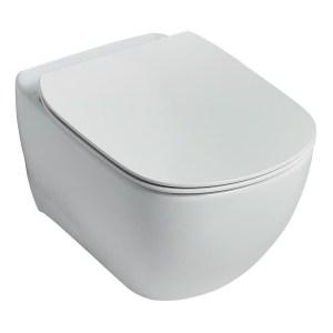 Ideal Standard Tesi Aquablade Wall Hung WC Bowl T3545 White